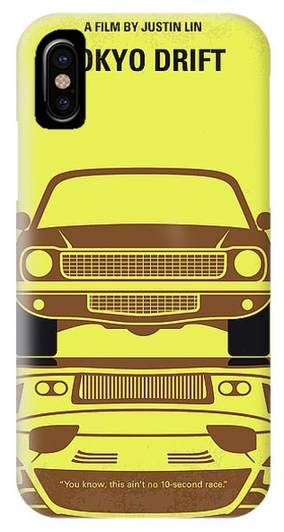 Nissan iPhone Case - No207-3 My Tokyo Drift Minimal Movie Poster by Chungkong Art