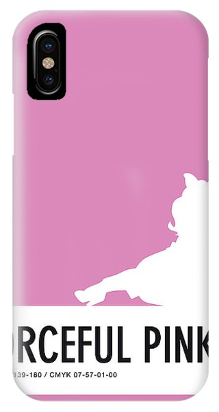 Frogs iPhone Case - No26 My Minimal Color Code Poster Piggy  by Chungkong Art