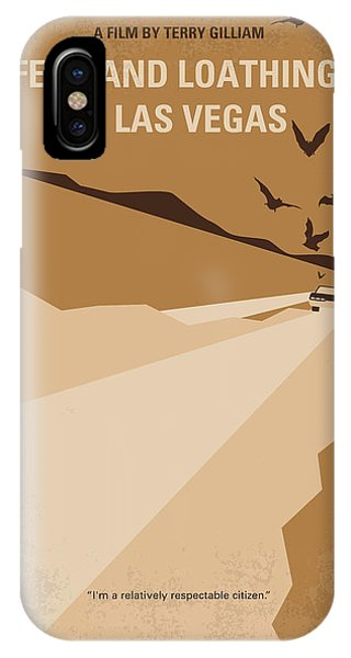 No293 My Fear And Loathing Las Vegas Minimal Movie Poster IPhone Case