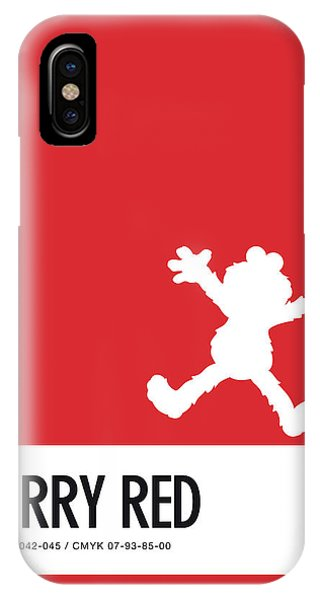 Frogs iPhone Case - No30 My Minimal Color Code Poster Elmo by Chungkong Art