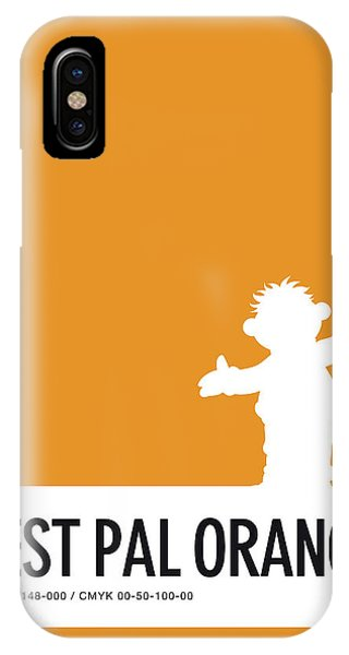 Frogs iPhone Case - No32 My Minimal Color Code Poster Ernie by Chungkong Art