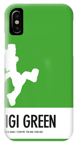 Daisy iPhone Case - No34 My Minimal Color Code Poster Luigi by Chungkong Art