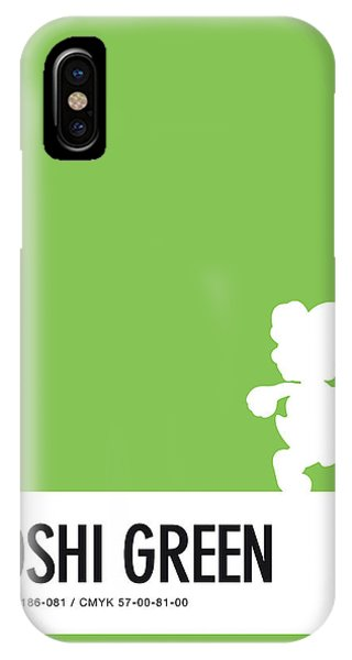Daisy iPhone Case - No36 My Minimal Color Code Poster Yoshi by Chungkong Art