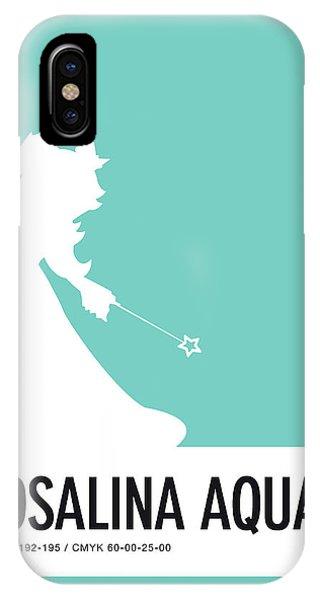 Daisy iPhone X Case - No39 My Minimal Color Code Poster Rosalina by Chungkong Art