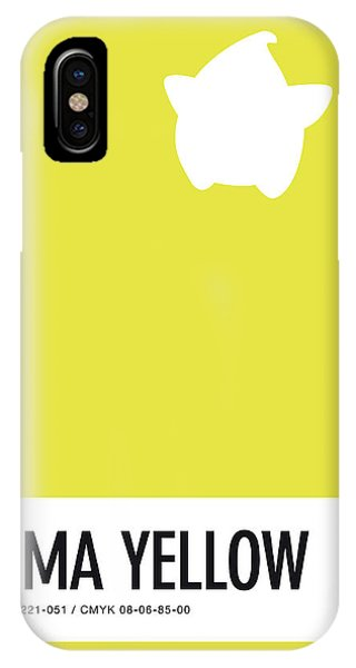 Daisy iPhone Case - No40 My Minimal Color Code Poster Luma by Chungkong Art