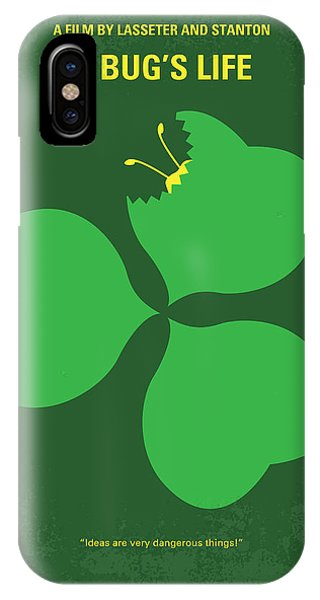 Ant iPhone Case - No401 My A Bugs Life Minimal Movie Poster by Chungkong Art
