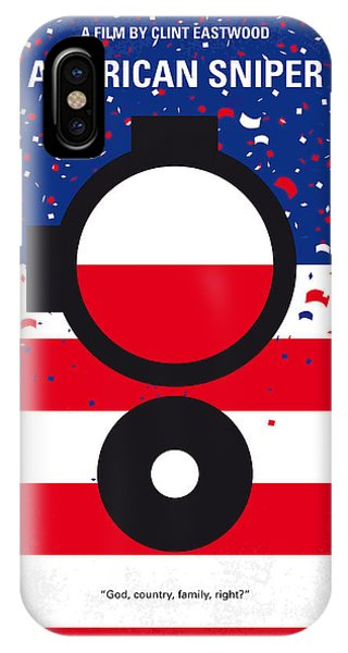 No435 My American Sniper Minimal Movie Poster IPhone Case