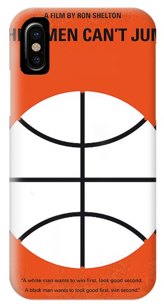 Basketball iPhone Case - No436 My White Men Cant Jump Minimal Movie Poster by Chungkong Art