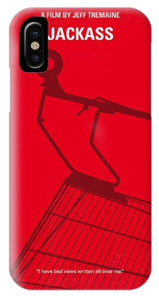 Mtv iPhone Case - No444 My Jackass Minimal Movie Poster by Chungkong Art