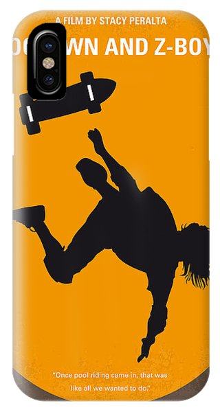 California iPhone Case - No450 My Dogtown And Z-boys Minimal Movie Poster by Chungkong Art