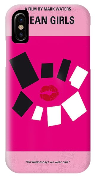 No458 My Mean Girls Minimal Movie Poster IPhone Case