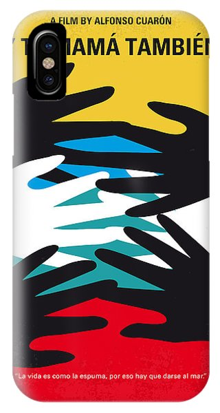 Design iPhone Case - No468 My Y Tu Mama Tambien Minimal Movie Poster by Chungkong Art