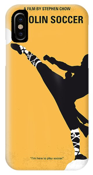 Soccer iPhone Case - No480 My Shaolin Soccer Minimal Movie Poster by Chungkong Art