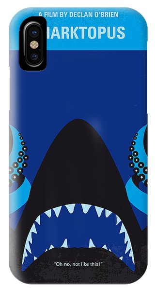 No485 My Sharktopus Minimal Movie Poster IPhone Case