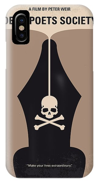No486 My Dead Poets Society Minimal Movie Poster IPhone Case