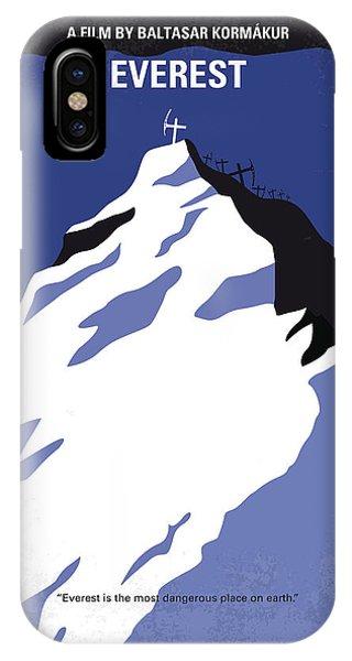 No492 My Everest Minimal Movie Poster IPhone Case