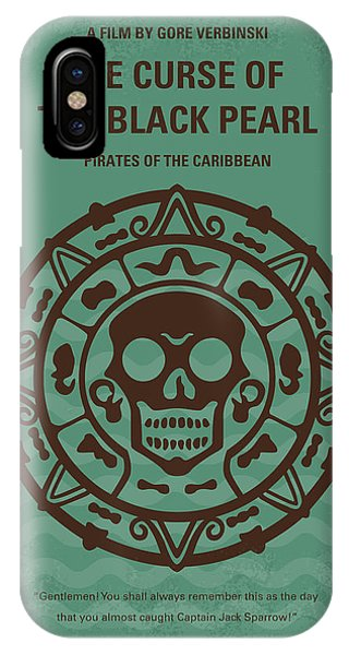 Flag iPhone Case - No494-1 My Pirates Of The Caribbean I Minimal Movie Poster by Chungkong Art