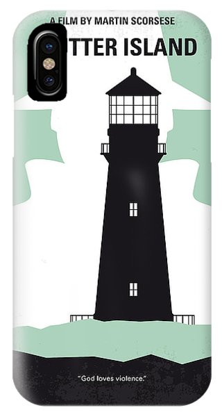 Style iPhone Case - No513 My Shutter Island Minimal Movie Poster by Chungkong Art