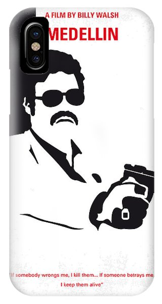 No526 My Medellin Minimal Movie Poster IPhone Case