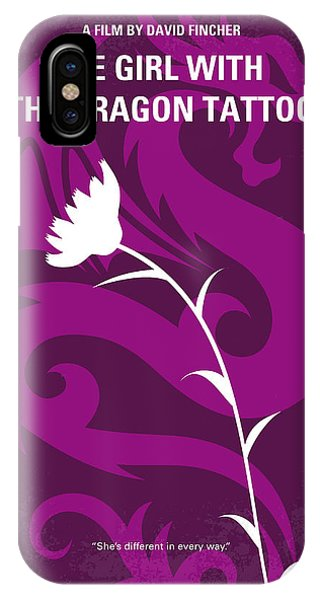 Craig iPhone Case - No528 My The Girl With The Dragon Tattoo Minimal Movie Poster by Chungkong Art