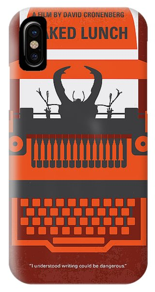 Design iPhone Case - No534 My Naked Lunch Minimal Movie Poster by Chungkong Art
