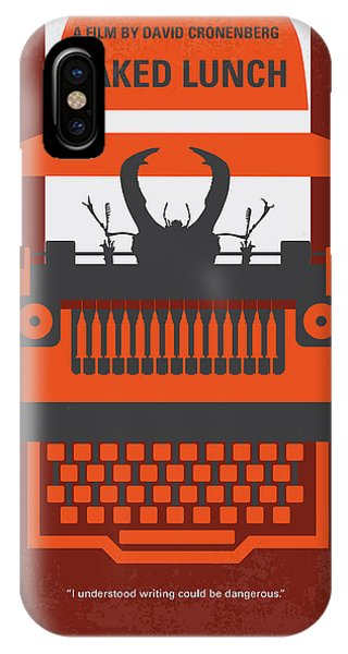 Style iPhone Case - No534 My Naked Lunch Minimal Movie Poster by Chungkong Art