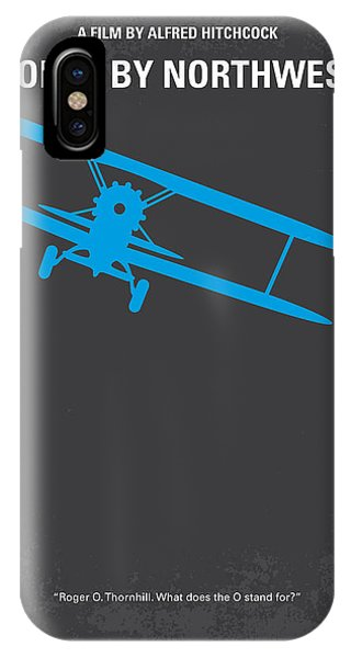 North iPhone Case - No535 My North By Northwest Minimal Movie Poster by Chungkong Art