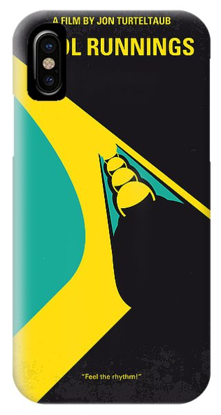 Cool iPhone Case - No538 My Cool Runnings Minimal Movie Poster by Chungkong Art