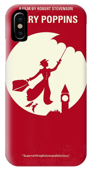 Andrew iPhone Case - No539 My Mary Poppins Minimal Movie Poster by Chungkong Art