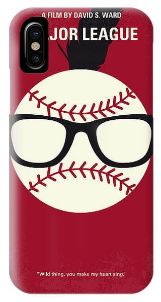 Nerd iPhone Case - No541 My Major League Minimal Movie Poster by Chungkong Art