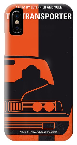 Change iPhone Case - No552 My The Transporter Minimal Movie Poster by Chungkong Art