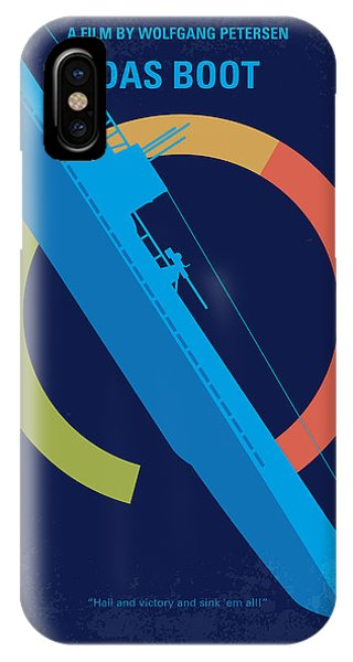 Germany iPhone Case - No553 My Das Boot Minimal Movie Poster by Chungkong Art