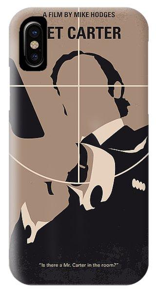 No557 My Get Carter Minimal Movie Poster IPhone Case