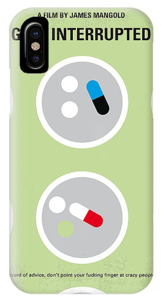 1960s iPhone Case - No564 My Girl Interrupted Minimal Movie Poster by Chungkong Art