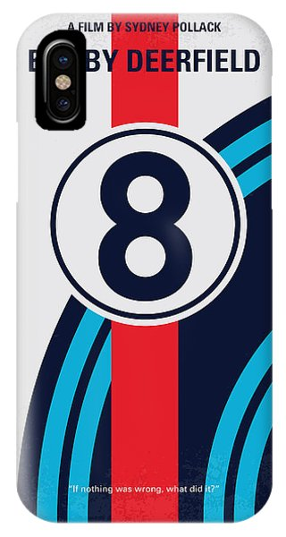 Martini iPhone Case - No565 My Bobby Deerfield Minimal Movie Poster by Chungkong Art