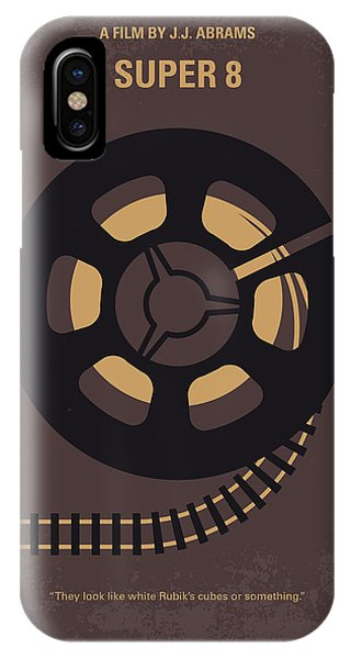 Truck iPhone Case - No578 My Super 8 Minimal Movie Poster by Chungkong Art