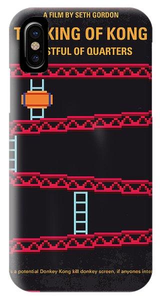Donkey iPhone Case - No581 My King Of Kong Minimal Movie Poster by Chungkong Art