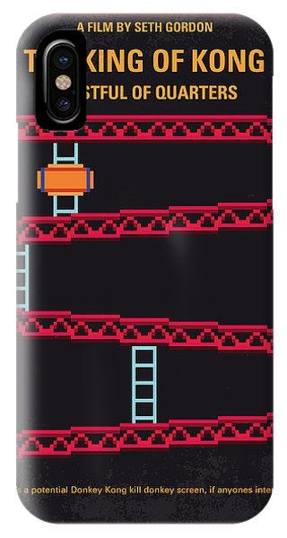 King iPhone Case - No581 My King Of Kong Minimal Movie Poster by Chungkong Art