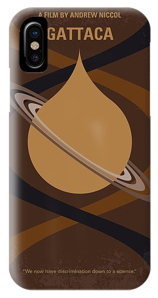 Superior iPhone Case - No588 My Gattaca Minimal Movie Poster by Chungkong Art