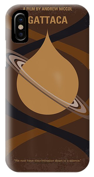 Travel iPhone Case - No588 My Gattaca Minimal Movie Poster by Chungkong Art