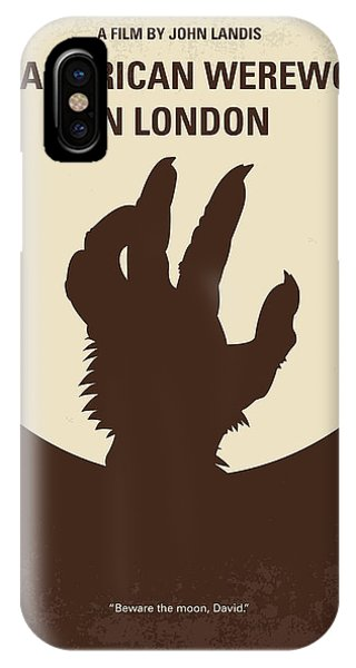 Students iPhone Case - No593 My American Werewolf In London Minimal Movie Poster by Chungkong Art