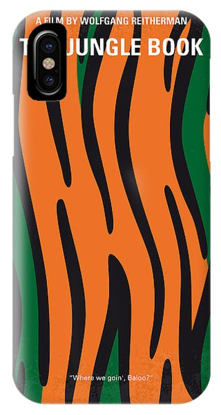 Jungle iPhone Case - No601 My Jungle Book Minimal Movie Poster by Chungkong Art