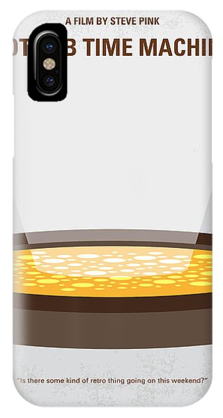 Craig iPhone Case - No612 My Hot Tub Time Machine Minimal Movie Poster by Chungkong Art