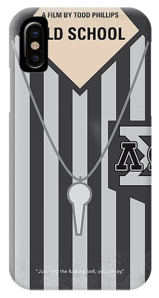 Students iPhone Case - No614 My Old School Minimal Movie Poster by Chungkong Art