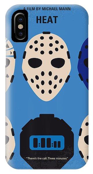 Heat iPhone Case - No621 My Heat Minimal Movie Poster by Chungkong Art