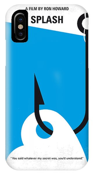 No625 My Splash Minimal Movie Poster IPhone Case