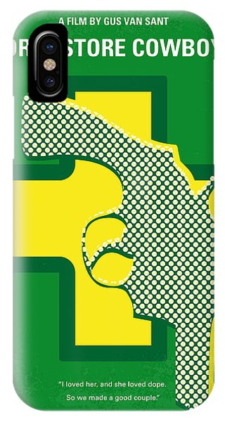 Work iPhone Case - No628 My Drugstore Cowboy Minimal Movie Poster by Chungkong Art