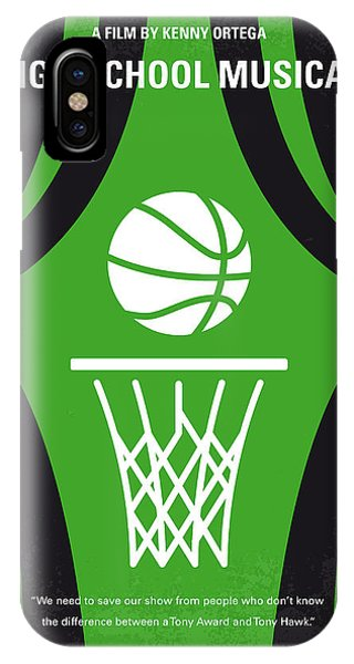 Basketball iPhone Case - No633 My High School Musical Minimal Movie Poster by Chungkong Art
