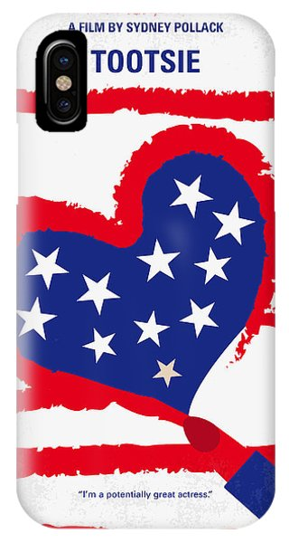 Southwest iPhone Case - No646 My Tootsie Minimal Movie Poster by Chungkong Art