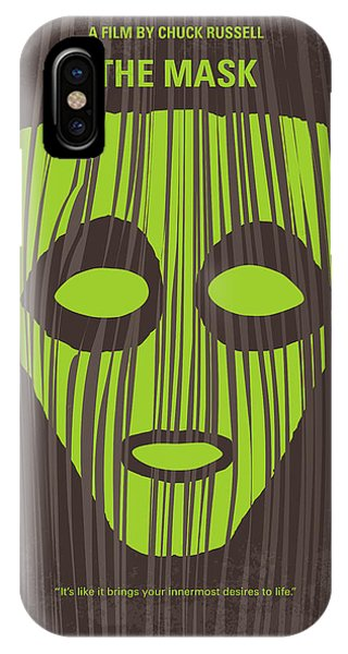 No647 My The Mask Minimal Movie Poster IPhone Case